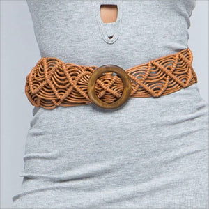 Woven Beach Belt - 2 Colors