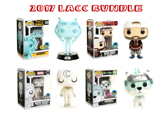 Bundle: Pop! - 2017 Stan Lee's LA Comic-Con - Mom's Basement Collectibles