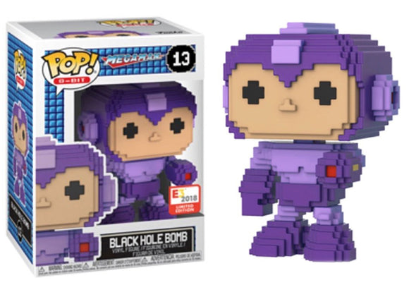 Pop! 8-Bit: Megaman - Black Hole Bomb (E3 Exclusive) - Mom's Basement Collectibles