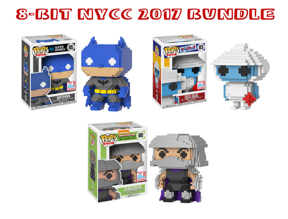 Bundle: Pop! 8Bit - NYCC Bundle - Mom's Basement Collectibles