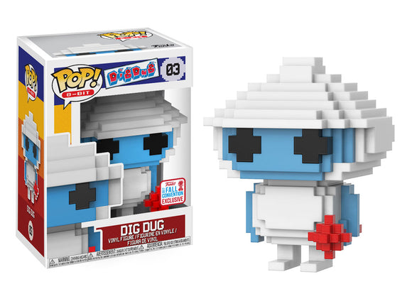Pop! 8-Bit - Dig Dug (Fall Convention Exclusive 2017) - Mom's Basement Collectibles