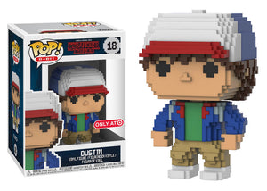 Pop! 8-Bit: Stranger Things - Dustin (Target Exclusive) - Mom's Basement Collectibles