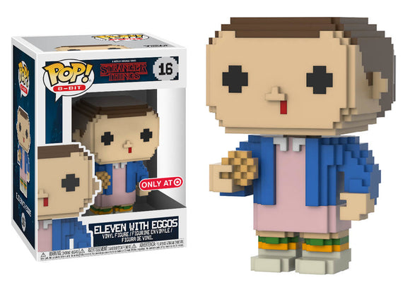 Pop! 8-Bit: Stranger Things - Eleven with Eggos (Target Exclusive) - Mom's Basement Collectibles