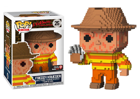 Pop! 8-Bit - Freddy Krueger (GameStop Exclusive) - Mom's Basement Collectibles