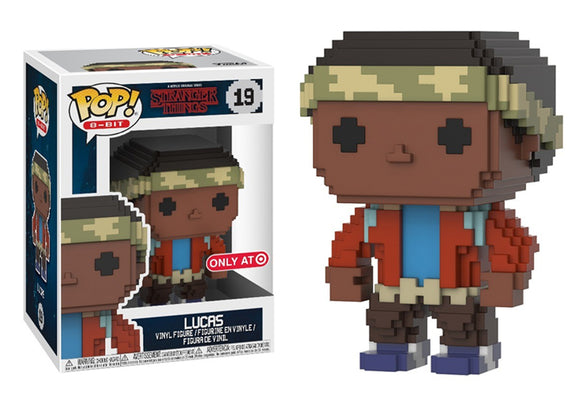 Pop! 8-Bit: Stranger Things - Lucas (Target Exclusive) - Mom's Basement Collectibles