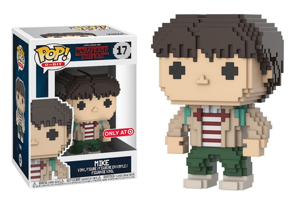 Pop! 8-Bit: Stranger Things - Mike (Target Exclusive) - Mom's Basement Collectibles