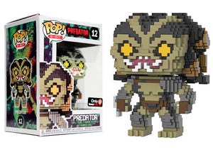 Pop! 8-Bit - Predator (Gamestop Exclusive) - Mom's Basement Collectibles