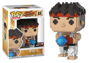 Pop! 8-Bit - Ryu (Gamestop Exclusive) - Mom's Basement Collectibles