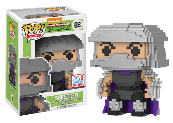 Pop! 8-Bit - Shredder (Fall Convention Exclusive 2017) - Mom's Basement Collectibles