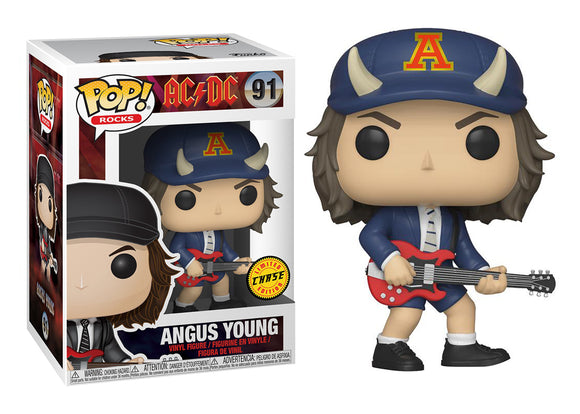 [PRE-ORDER] Pop! Rocks: AC/DC - Angus Young (Chase) - Mom's Basement Collectibles