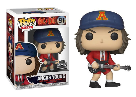 Pop! Rocks: AC/DC - Angus Young (FYE Exclusive) - Mom's Basement Collectibles