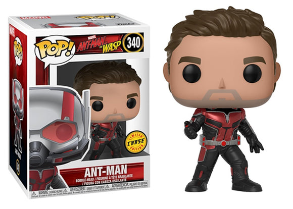 Pop! Marvel: Ant-Man & The Wasp - Ant-Man (Chase) - Mom's Basement Collectibles