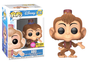 Pop! Disney - Abu [Flocked] (Hot Topic Exclusive) - Mom's Basement Collectibles
