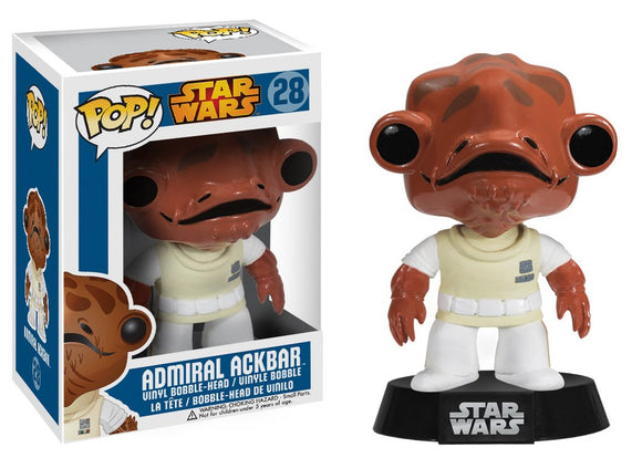 Pop! Star Wars - Admiral Ackbar - Mom's Basement Collectibles