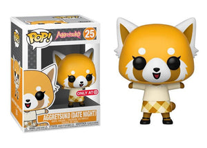 Pop! Sanrio - Aggretsuko [Date Night] (Target Exclusive) - Mom's Basement Collectibles