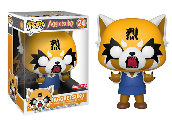 Pop! Sanrio - Aggretsuko [Rage - 10 Inch] (Target Exclusive) - Mom's Basement Collectibles
