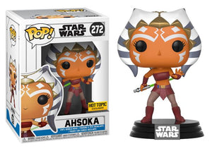 Pop! Star Wars: Clone Wars - Ahsoka (Hot Topic Exclusive) - Mom's Basement Collectibles