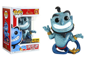 Pop! Disney: Aladdin - Genie With Lamp [Diamond] (Hot Topic Exclusive) - Mom's Basement Collectibles