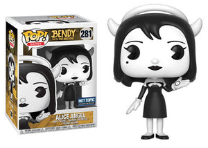 Pop! Games: Bendy & The Ink Machine - Alice Angel (Hot Topic Exclusive Pre-Release) - Mom's Basement Collectibles