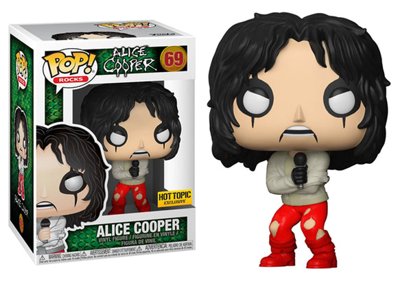 Pop! Rocks - Alice Cooper [Straightjacket] (Hot Topic Exclusive) - Mom's Basement Collectibles