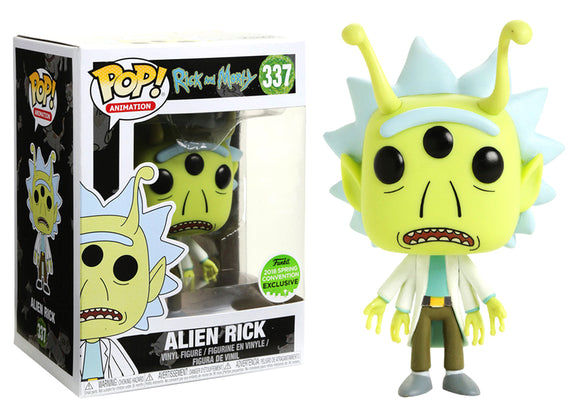 Pop! Animation: Rick and Morty - Alien Rick (Spring Convention Exclusive 2018) - Mom's Basement Collectibles