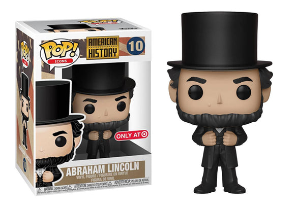 Pop! American History - Abraham Lincoln (Target Exclusive) - Mom's Basement Collectibles