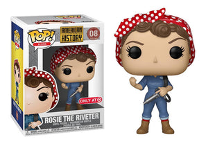 Pop! American History - Rosie The Riveter (Target Exclusive) - Mom's Basement Collectibles