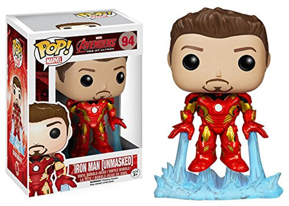 Pop! Marvel: Avengers: Age of Ultron - Iron Man (Unmasked) - Mom's Basement Collectibles