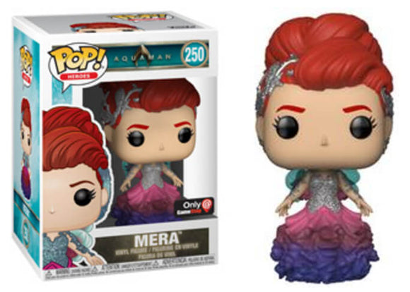 Pop! Heroes: Aquaman - Mera [Gown] (Gamestop Exclusive) - Mom's Basement Collectibles
