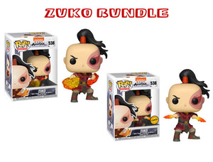 Bundle: Pop! Animation: Avatar: The Last Airbender - Zuko CHASE - Mom's Basement Collectibles