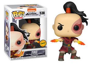 Pop! Animation: Avatar: The Last Airbender - Zuko (Chase) - Mom's Basement Collectibles