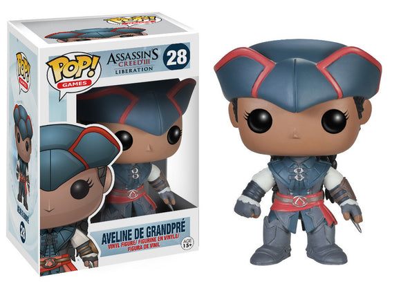 Pop! Games: Assassin's Creed III: Liberation - Aveline De Grandpre - Mom's Basement Collectibles