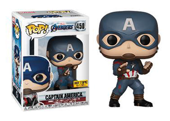 Pop! Marvel: Avengers: Endgame - Captain America (Hot Topic Exclusive) - Mom's Basement Collectibles