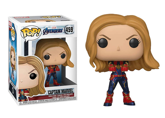 Pop! Marvel: Avengers: Endgame - Captain Marvel - Mom's Basement Collectibles