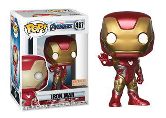 Pop! Marvel: Avengers: Endgame - Iron Man (Box Lunch Exclusive) - Mom's Basement Collectibles