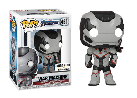 Pop! Marvel: Avengers: Endgame - War Machine [Team Suit] (Amazon Exclusive) - Mom's Basement Collectibles