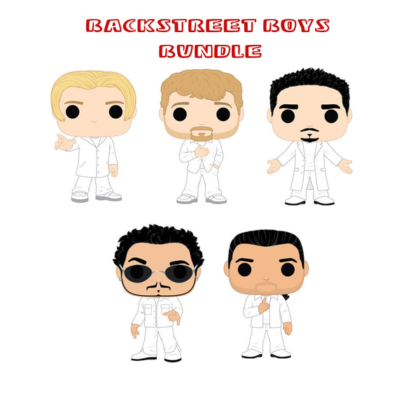 [PRE-ORDER] Bundle: Pop! Rocks: Backstreet Boys Set - Mom's Basement Collectibles