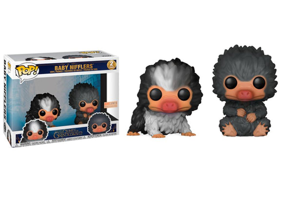 Pop! Crimes of Grindelwald - Baby Niffler 2 Pack (Box Lunch Exclusive) - Mom's Basement Collectibles