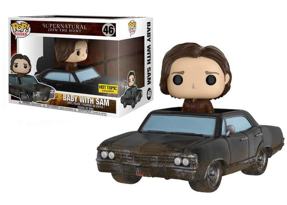 Pop! Rides: Supernatural - Baby w/ Sam (Hot Topic Exclusive) - Mom's Basement Collectibles