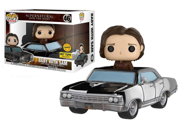 Pop! Rides: Supernatural - Baby w/ Sam (Hot Topic Exclusive Chase) - Mom's Basement Collectibles