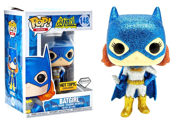 Pop! Heroes - Batgirl [Diamond] (Hot Topic Exclusive) - Mom's Basement Collectibles