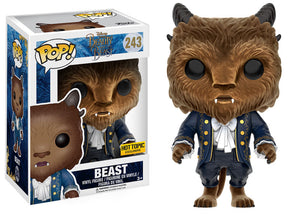 Pop! Disney: Beauty and the Beast - Beast [Flocked] (Hot Topic Exclusive) - Mom's Basement Collectibles