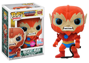 Pop! Television: Masters of the Universe - Beast Man [Flocked] (Fall Convention Exclusive 2017) - Mom's Basement Collectibles