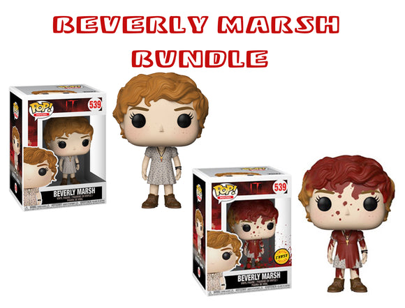 Bundle: Pop! Movies: It - Beverly Marsh CHASE - Mom's Basement Collectibles