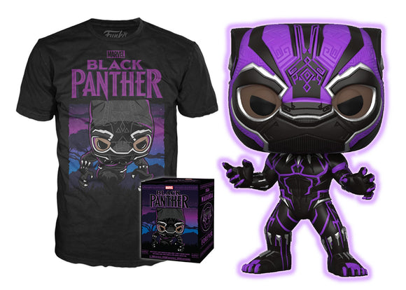 Pop! Marvel Collectors Box: Black Panther Pop & T-Shirt [SMALL] (Target Exclusive) - Mom's Basement Collectibles