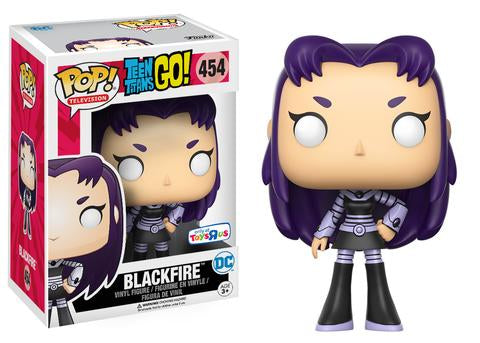 Pop! Television: Teen Titans Go! - Blackfire (Toys R Us Exclusive) - Mom's Basement Collectibles