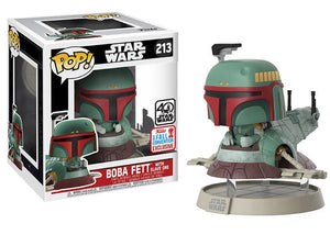 Pop! Star Wars - Boba Fett With Slave One (Fall Convention Exclusive 2017) - Mom's Basement Collectibles