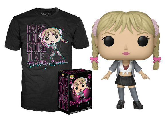 Pop! Rocks: Britney Spears & T-Shirt [Medium] (Target Exclusive) - Mom's Basement Collectibles