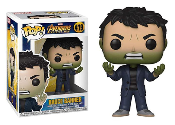 Pop! Marvel: Avengers: Infinity War - Bruce Banner - Mom's Basement Collectibles