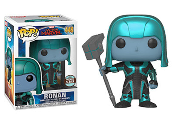 Pop! Marvel: Captain Marvel - Ronan (Funko Specialty Exclusive) - Mom's Basement Collectibles